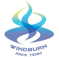 Windburn White Logo